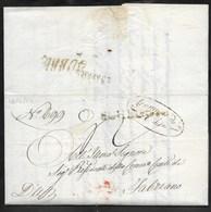 DA GUBBIO A FABRIANO - 22.4.1850. - Italia