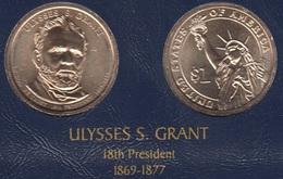 """DOLAR PRESIDENTES """"ULYSES S.GRANT"""" - Estados Unidos"""