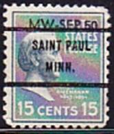 USA Precancel - SAINT PAUL  MINN. - Etats-Unis