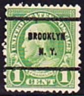 USA Precancel - SBROOKLYN  N.Y - Etats-Unis