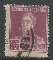 Argentina 1923. Scott #340 (U) General, Jose De San Martin * - Argentina