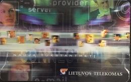 Paco \ LITUANIA \ LT-LTV-C032 \ To A New Millennium \ Usata - Lituania