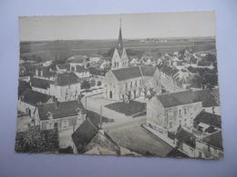 CPSM 41 - EN AVION AU-DESSUS DE VERDES L'EGLISE - Autres Communes