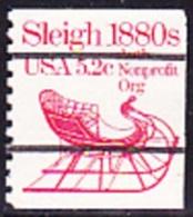 USA Precancel - S/ SLEIGH 1880S - Etats-Unis