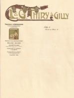 L. & G. Thiry à Gilly (imprimerie) - Imprimerie & Papeterie