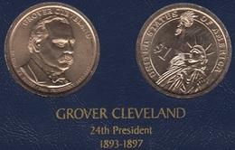 """DOLAR PRESIDENTES """"GROVER CLEVELAND"""" - Estados Unidos"""