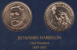 """DOLAR PRESIDENTES """"BENJAMIN HARRISON"""" - Colecciones"""