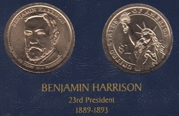 "DOLAR PRESIDENTES ""BENJAMIN HARRISON"" - Estados Unidos"