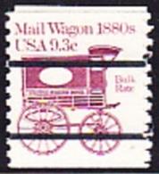 USA Precancel - S/ MAIL WAGON 1880S - Etats-Unis