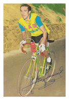 CARTE CYCLISME JULIO JIMENEZ SIGNEE SERIE TARJEFHER - Wielrennen