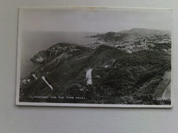 1957 Black And White  Postcard - Ilfracombe And The Tors Walk - Ilfracombe