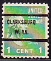 USA Precancel - CLARKSBURG   W.VA. - Etats-Unis