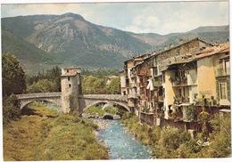 Sospel - Vieilles Maisons Bordées Par La Bévéra Qu'enjambe Le Vieux Pont  - (06 - Alpes-Mar.) - Sospel