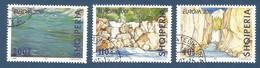Albanien  2001  Mi.Nr. 2809 / 2811 , EUROPA CEPT - Lebensspender Wasser - Gestempelt / Fine Used / (o) - 2001