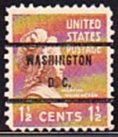 USA Precancel - WASHINGTON  D.C. - Etats-Unis