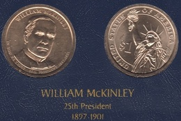 "DOLAR PRESIDENTES ""WILLIAM MCKINLEY"" - Estados Unidos"
