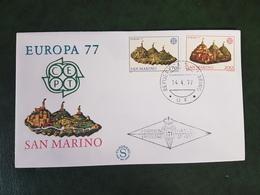 (36032) F.D.C. SAN MARINO  1977 - FDC