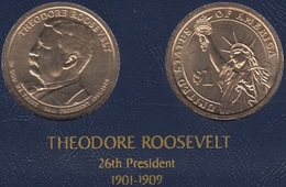 "DOLAR PRESIDENTES ""THEODORE ROOSELVELT"" - Colecciones"