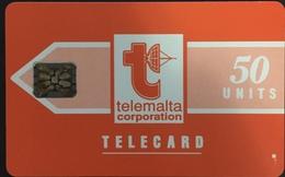 Paco \ MALTA \ MT-MLT-0001A \ Big Telemalta Logo - Orange (Glossy) \ Usata - Malta