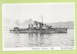 TIRAILLEUR  Torpilleur  1908 / Photo Marius Bar, Toulon / Marine - Bateaux - Guerre - Militaire - Oorlog