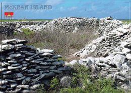 1 AK Kiribati * McKean Island - Ruines Of Guano Miners Houses - Die Insel Gehört Zur Gruppe Der Phoenix-Inseln * - Kiribati