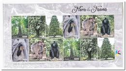 Indonesië 2018, Postfris MNH, Flora En Fauna, Trees, Monkeys - Indonésie