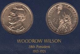"DOLAR PRESIDENTES ""WOODROW WILSON"" - Colecciones"