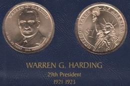 """DOLAR PRESIENTES """"WARREN G.HARDING"""" - Estados Unidos"""