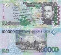 S. Tome E Principe - 100000 Dobras 2013 UNC Lemberg-Zp - Sao Tome And Principe
