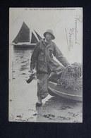 MÉTIERS - Carte Postale - Jean Marie , Le Grand Pêcheur De Homards De Locquirec - L 28674 - Fischerei