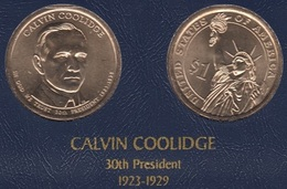 """DOLAR PRESIDENTES """"CALVIN COOLIDGE"""" - Estados Unidos"""