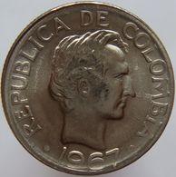Colombia 20 Centavos 1967 UNC - Colombie