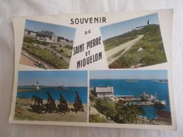 CPM JEAN BRIAND PHOTOGRAPHE - MULTI VUES SOUVENIR DE SAINT PIERRE ET MIQUELON - Saint-Pierre-et-Miquelon