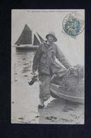 FRANCE - Carte Postale - Locquirec - Le Pêcheur De Homards Jean Marie - L 28677 - Locquirec