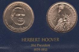 """DOLAR PRESIDENTES """"HERBERT HOOVER"""" - Estados Unidos"""