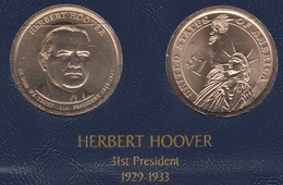 "DOLAR PRESIDENTES ""HERBERT HOOVER"" - Colecciones"