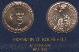 """DOLAR PRESIDENTES """"FRANKLIN D. ROOSEVELT"""" - Estados Unidos"""