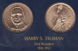 """DOLAR PRESIDENTES """"HARRY S. TRUMAN - Estados Unidos"""
