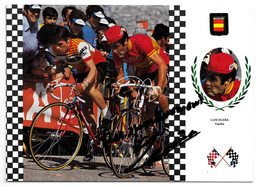 CARTE CYCLISME LUIS OCAÑA SIGNEE SERIE FISA - Wielrennen