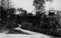 CHAMBERY.... Maison De J.j.rousseau  Route Des Charmettes - Software