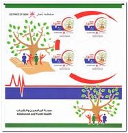Oman 2018, Postfris MNH, Adolescent And Youth Health - Oman