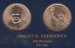 "DOLAR PRESIDENTES ""DWIGHT D. EISENHOWER"" - Estados Unidos"