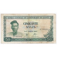 GUINEE - PICK 18 - 50 SYLIS - 1971 - TRES TRES BEAU - - Guinea