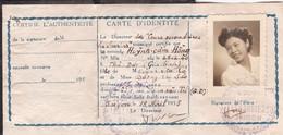 Carte D'identité Scolaire Du Lycée Les Lauriers à Saigon 1955 Indochine Indochina Cochinchine Vietnam - Documenti Storici