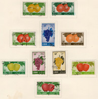 1955 - LIBANO - LEBANON - Mi. Nr. 559/568 - USED - (S03052019.....) - Liban