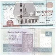 Egypt - 5 Pounds 2018 UNC Lemberg-Zp - Egypte
