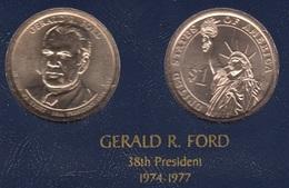"""DOLAR PRESIDENTES """"GERALD R. FORD"""" - Estados Unidos"""