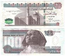 Egypt - 100 Pounds 2018 UNC Lemberg-Zp - Egypte