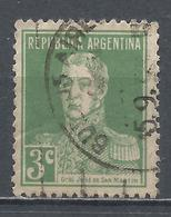 Argentina 1923. Scott #343 (U) General, Jose De San Martin * - Argentina