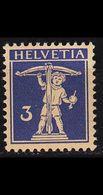 SCHWEIZ SWITZERLAND [1924] MiNr 0199 X ( **/mnh ) - Svizzera